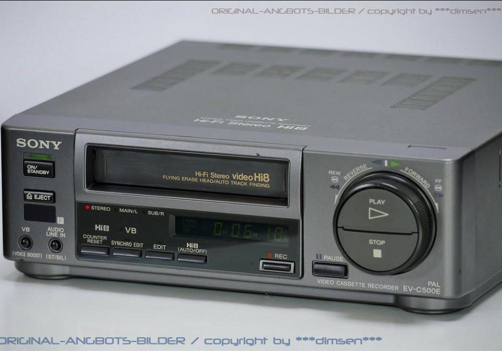 索尼 SONY EV-C500E Hi-8 立体声录像机