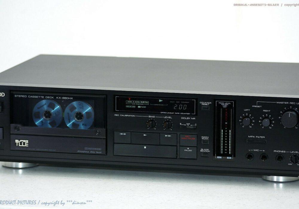 建伍 KENWOOD KX-880D 卡座