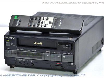 索尼 SONY EV-C3L Video 8 录像机