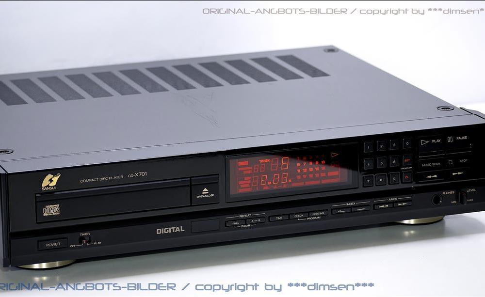 山水 SANSUI CD-X701 CD播放机