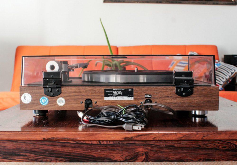 Kenwood KD-1033 黑胶唱机