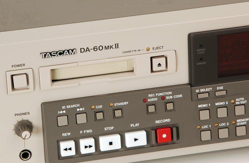 Tascam DA-60 MKII DAT播放机