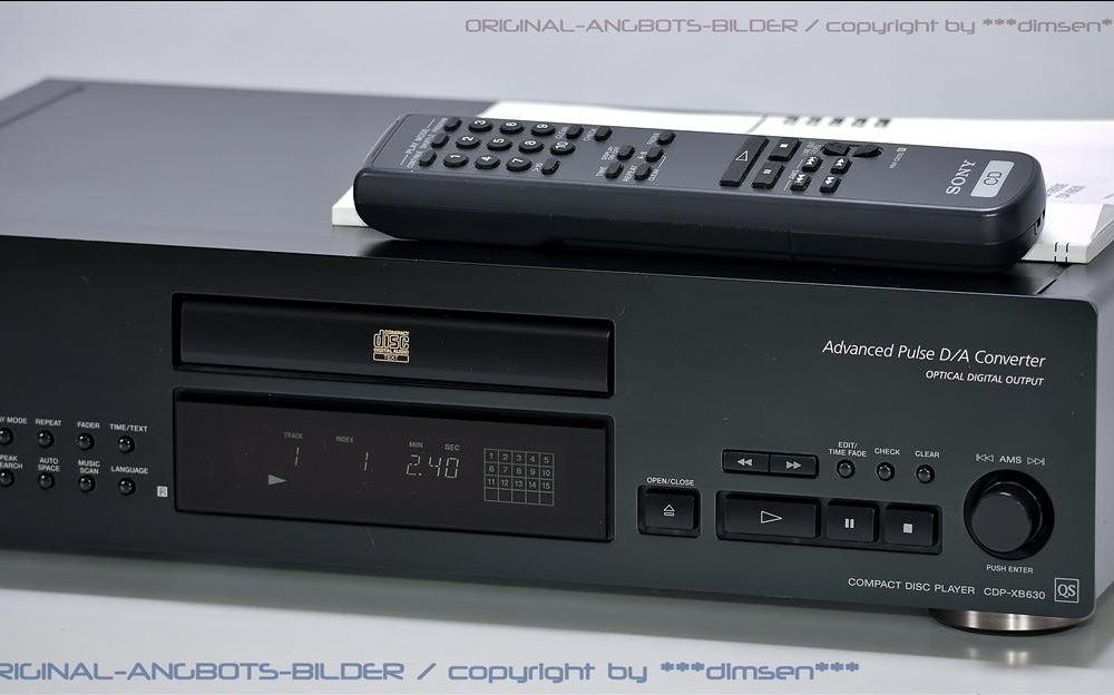 索尼 SONY CDP-XB630 CD播放机