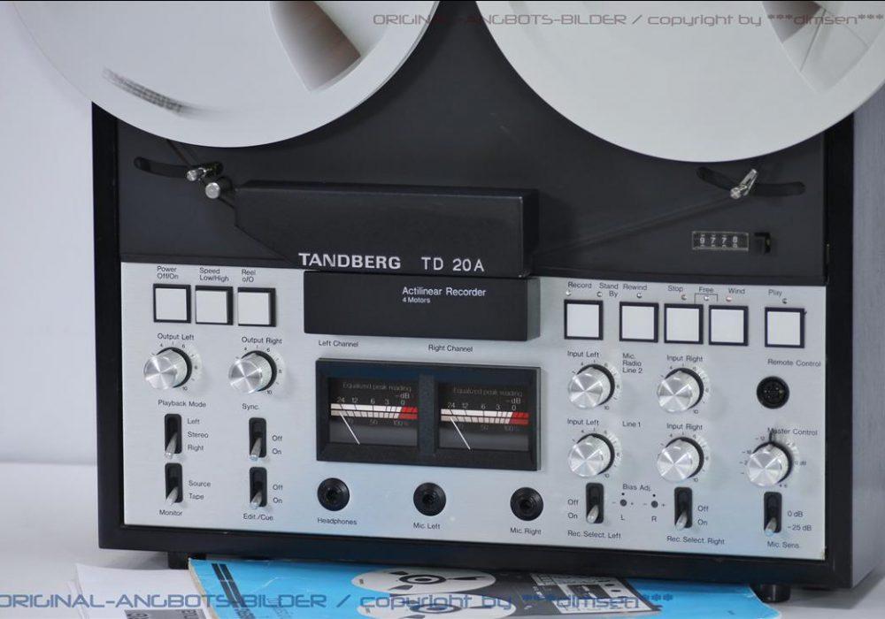 天宝 TANDBERG TD20A 开盘机