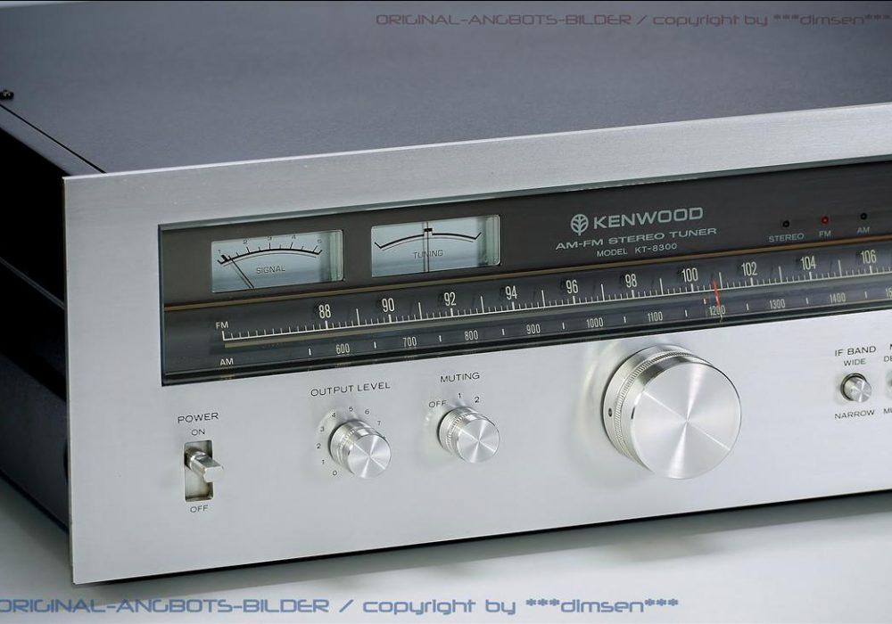 建伍 KENWOOD KT-8300 FM/AM 古典立体声收音头