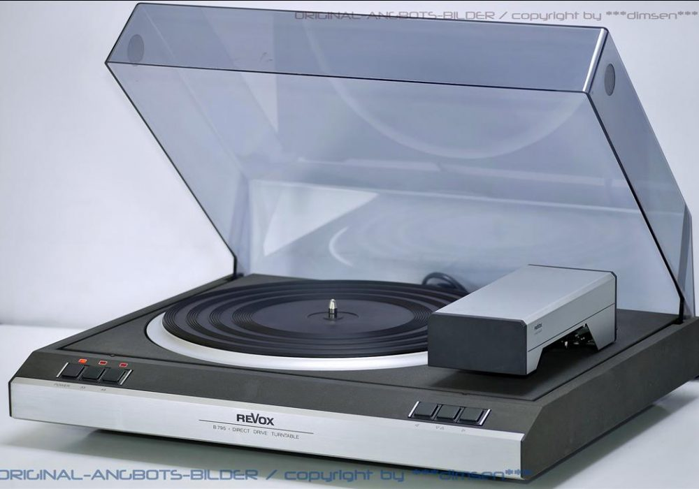 REVOX B795 直驱黑胶唱机