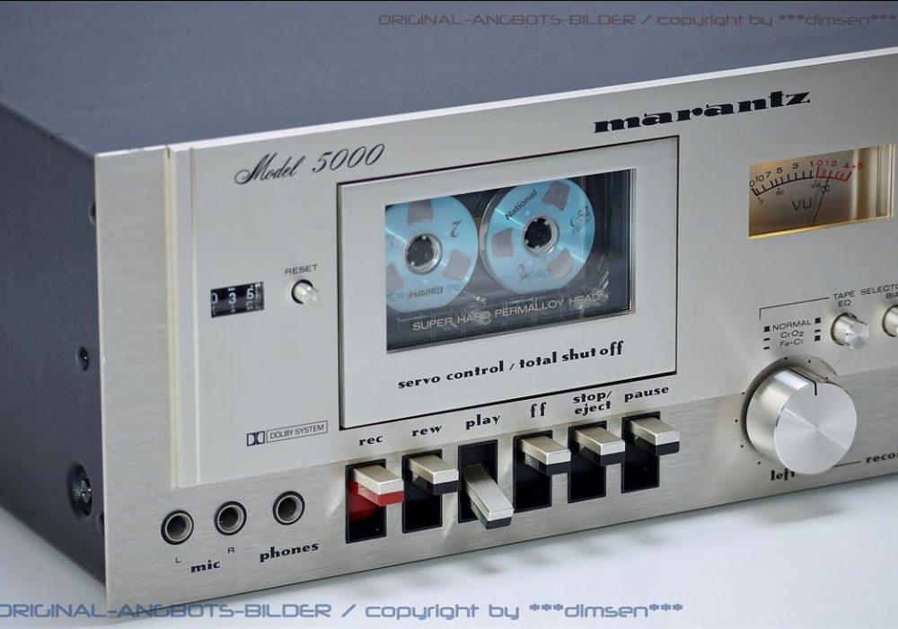 马兰士 MARANTZ Model 5000 双表头古典卡座