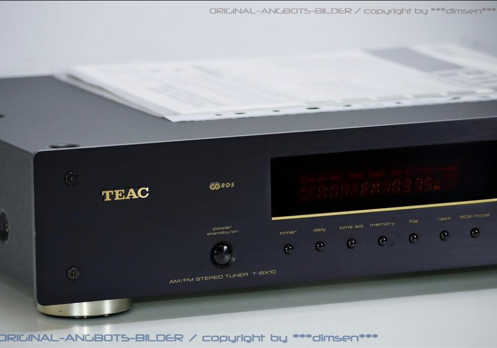 TEAC T-BX10 AM/FM 立体声数字调谐 收音头