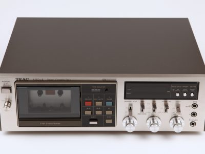 Teac A-510 MkII Cassette Deck Front View