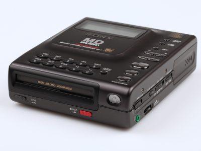 Sony MZ-1 Minidisc Recorder Front View