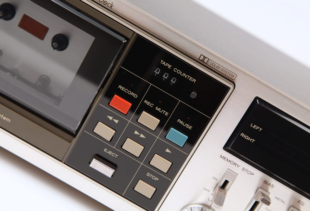 Teac A-510 MkII Cassette Deck Counter and Functions