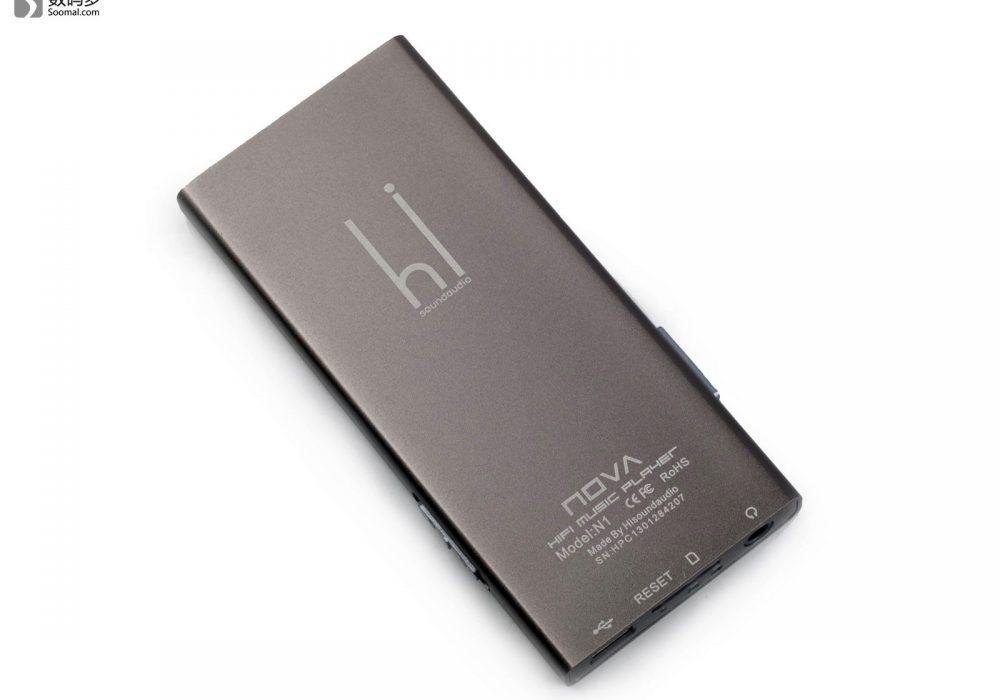 HiSound 汉声 Nova N1 便携式播放器 - 背面