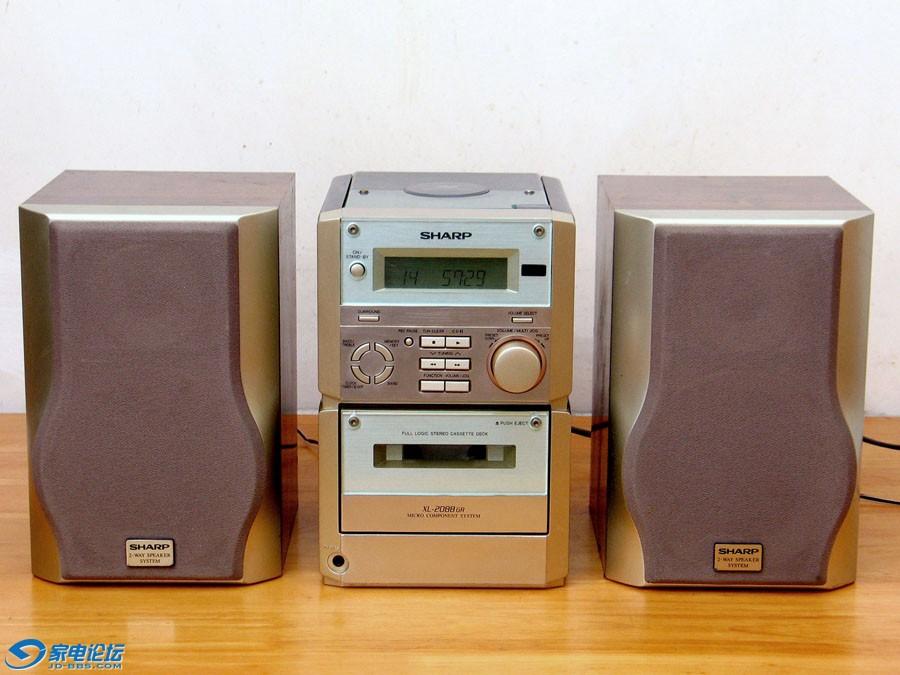 夏普 SHARP XL-2088GR 小型组合音响
