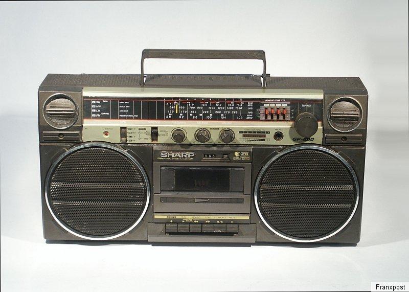 夏普 SHARP GF-600 立体声收录机