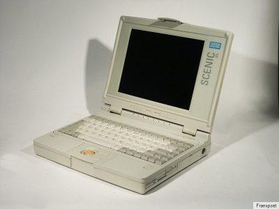 SIEMENS NIXDORF SCENIC 4N 西门子古董笔记本电脑