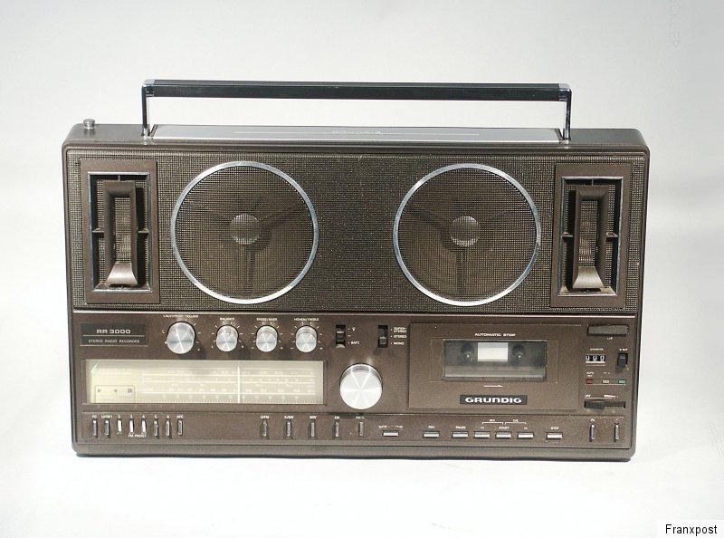 根德 GRUNDIG RR 3000 立体声收录机