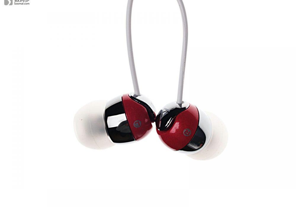 Creative 创新 EP-660 入耳式耳机 - 红色