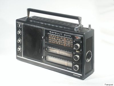 根德 GRUNDIG SATELLIT 2100 收音机