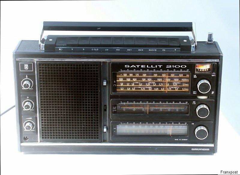 根德 GRUNDIG SATELLIT 2100 收音机