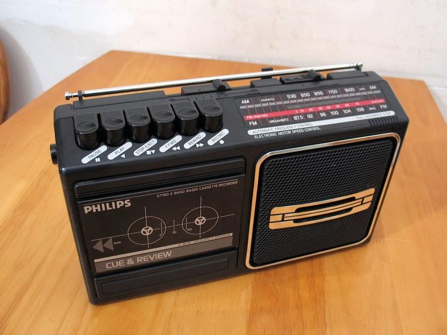 飞利浦 PHILIPS D7160 单卡两波段收录机