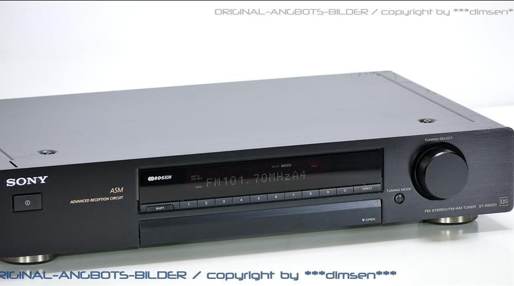 索尼 SONY ST-SB920 FM/AM 数字调谐器 收音头