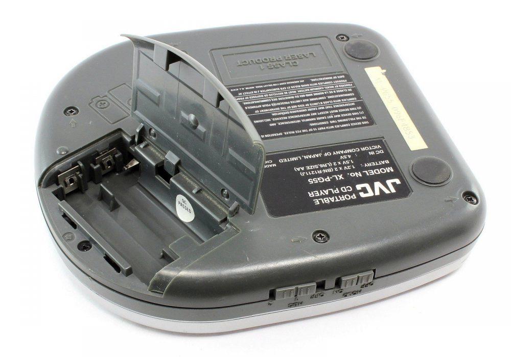 JVC XL-PG55 便携 CD Player Hyper-BASS Sound Anti-Shock Protection EX
