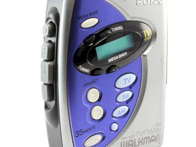 SONY 随身听 WM-FX277 Personal 立体声 磁带播放机 with AM/FM Radio