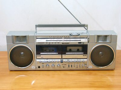 夏普 SHARP GF-500 双卡收录机