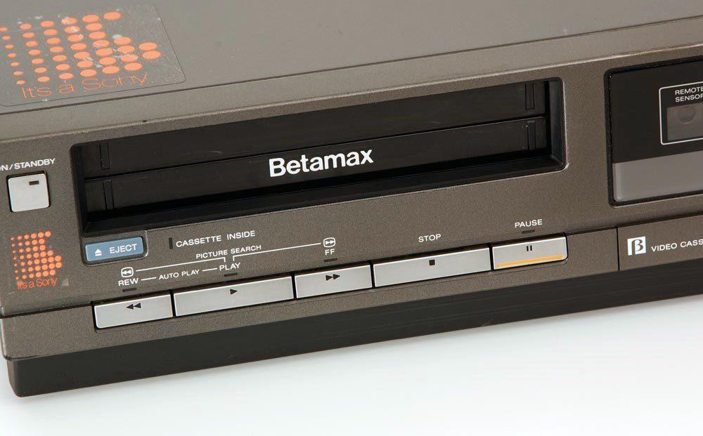 索尼 SONY SL-C30E Betamax 录像机