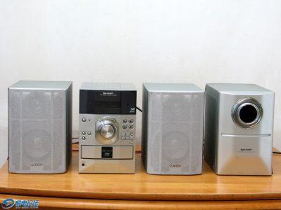 夏普 SHARP XL-DV50T 组合音响