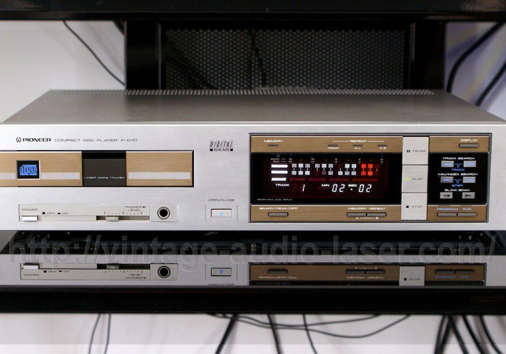 先锋 PIONEER P-D70 CD播放机
