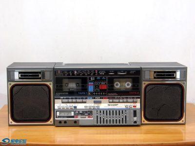 夏普 SHARP GF-800 双卡收录机
