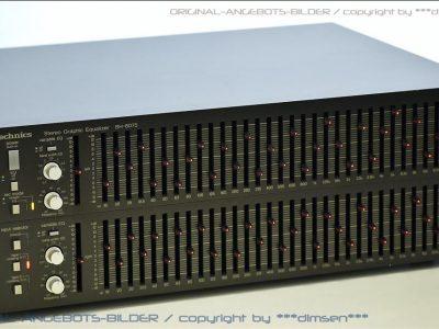 松下 Technics SH-8075 33段图形均衡器