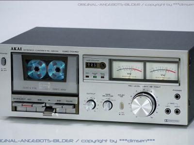 雅佳 AKAI GXC-704D 双表头立体声卡座