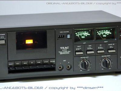 TEAC A-103 古典双表头卡座