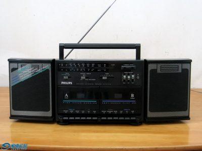 飞利浦 Philips AW7791 双卡收录机