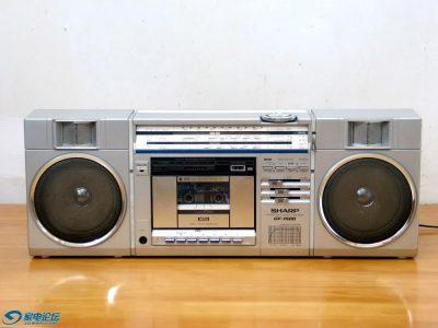 夏普 SHARP GF-7500 单卡四波段收录机