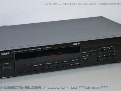 雅马哈 YAMAHA TX-590RDS AM/FM 数字调谐收音头