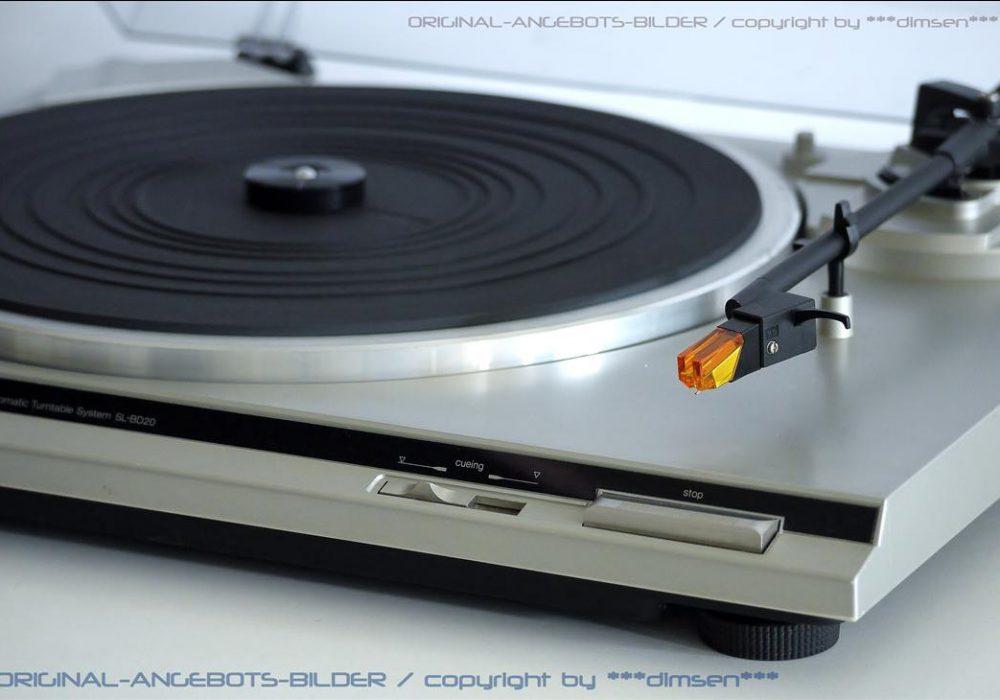 松下 Technics SL-BD20 黑胶唱机