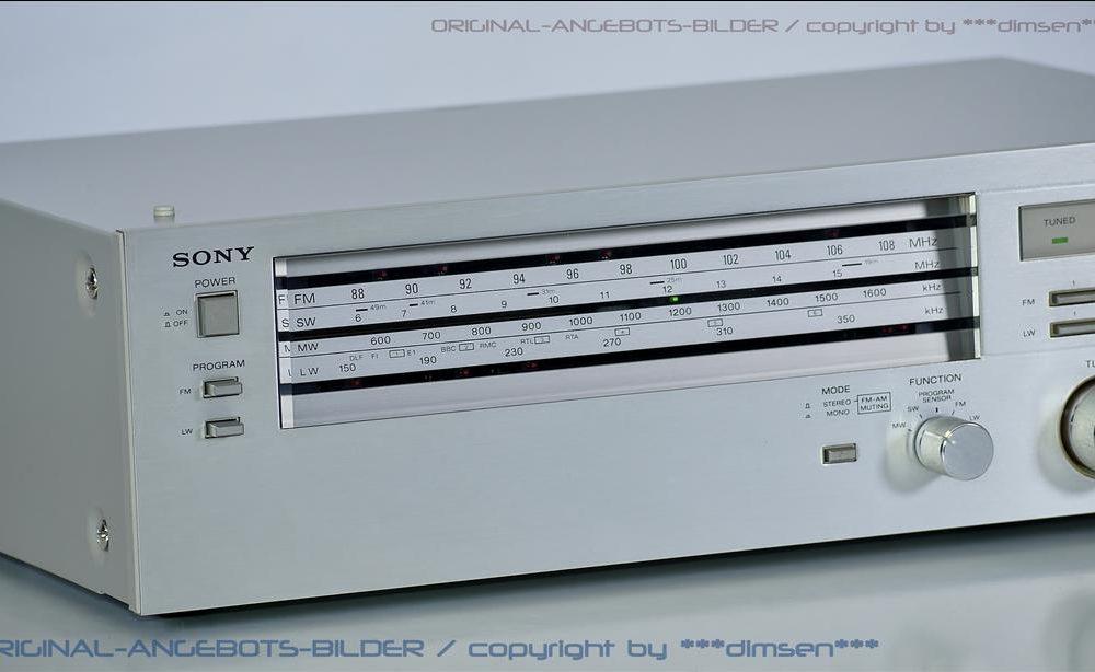 索尼 SONY ST-333L FM/AM 立体声收音头