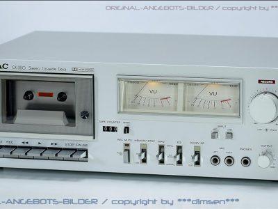 TEAC CX-350 双表头古典卡座