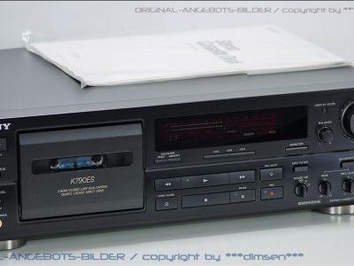 索尼 SONY TC-K790ES 高级三磁头直驱卡座