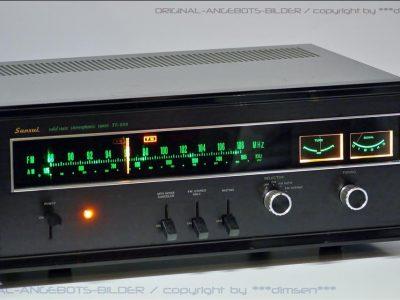 山水 SANSUI TU-999 FM/AM 双表头立体声收音头