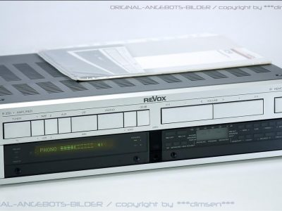 REVOX B250 合并式功率放大器