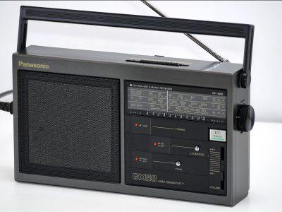 松下 Panasonic RF-1650J AM/FM/MW 三波段便携收音机