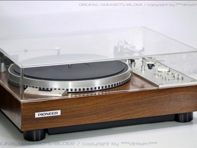 先锋 PIONEER PL-570 黑胶唱机