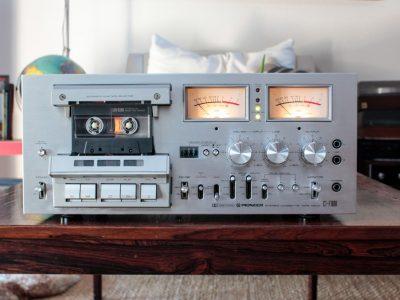 先锋 PIONEER CTF-1000 磁带卡座