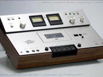 雅佳 AKAI GXC-310D 双表头古典卡座