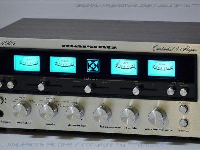 马兰士 MARANTZ Model 4000 四表头古典功率放大器