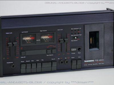天宝 TANDBERG TCD420A 古典双表头卡座